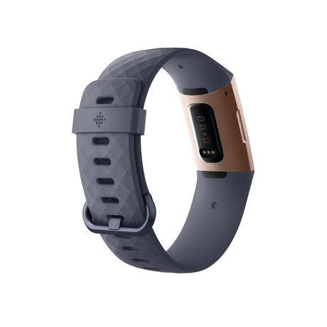 Fitbit Charge 3 Advanced Fitness Tracker, Graphite Aluminum Case And Black  Band