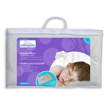 Baby Works Toddler Pillow With Pillowcase Walmart Canada