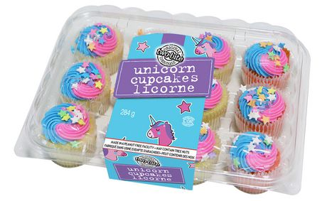 The Worthy Crumb Pastry Co Two Bite Unicorn Cupcakes