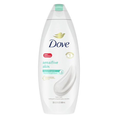 Dove Sensitive Skin Unscented Body Wash 650 ML - image 1 of 7