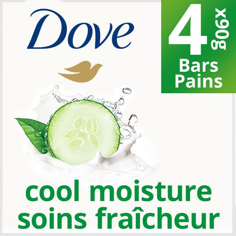 Dove® Go Fresh Cool Moisture Cucumber And Green Tea Scent Beauty bar - image 1 of 5