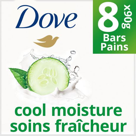 Dove Go Fresh Cool Moisture Beauty Bar 8x90g - image 1 of 8