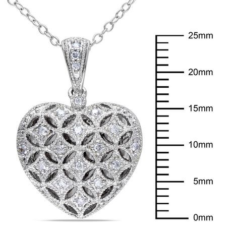 locket diamonds diamond white gold sapphire pin round