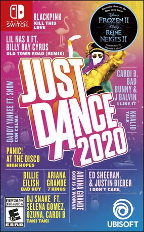 Just Dance 2020 video game for Nintendo Switch