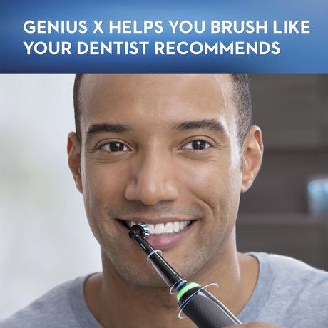 Oral-B GENIUS X 10000, Rechargeable Electric Toothbrush with Artificial Intelligence - image 3 of 9