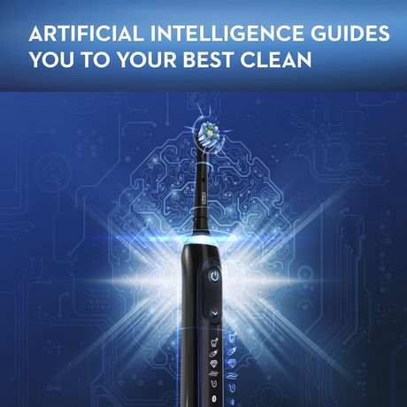 Oral-B GENIUS X 10000, Rechargeable Electric Toothbrush with Artificial Intelligence - image 8 of 9