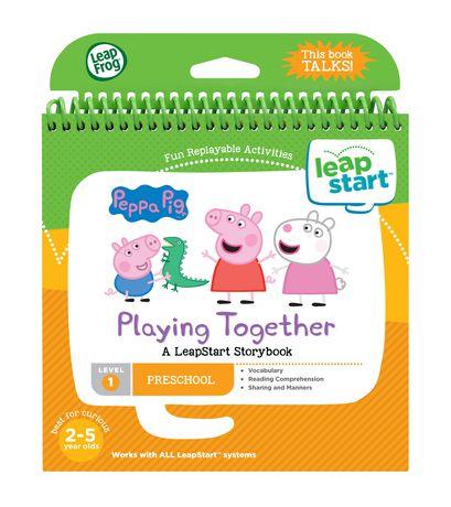 LeapFrog® LeapStart® Peppa Pig™ Playing Together - Storybook - English Version - image 2 of 5