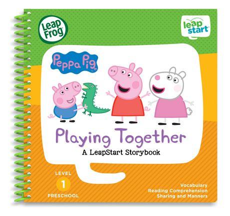 LeapFrog® LeapStart® Peppa Pig™ Playing Together - Storybook - English Version - image 1 of 5