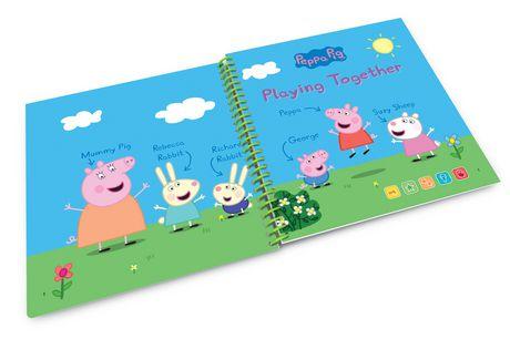 LeapFrog® LeapStart® Peppa Pig™ Playing Together - Storybook - English Version - image 4 of 5