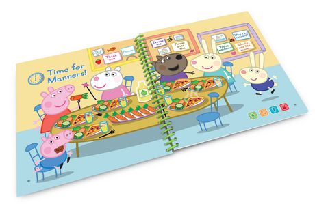 LeapFrog® LeapStart® Peppa Pig™ Playing Together - Storybook - English Version - image 5 of 5