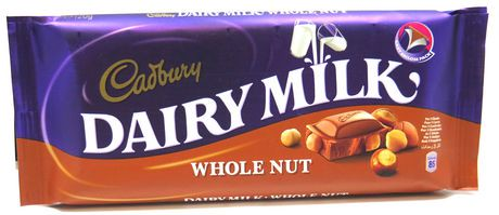 Cadbury Dairy Milk Whole Nut Chocolate Bar | Walmart Canada