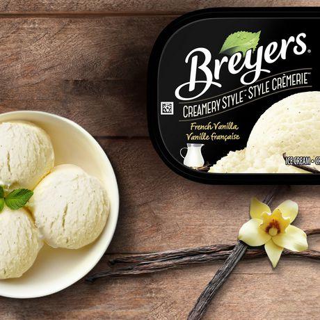 Breyers Creamery Style FrenchVanilla IceCream - image 4 of 8