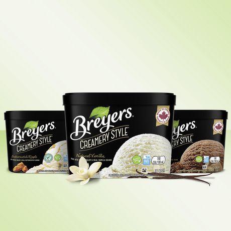Breyers Creamery Style NaturalVanilla IceCream - image 5 of 8