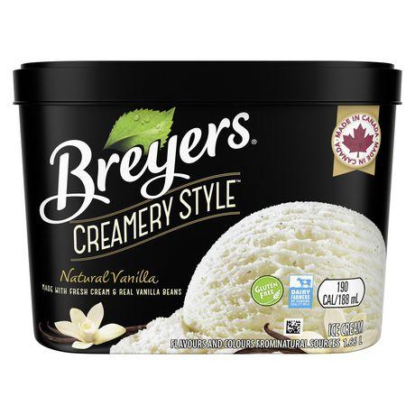 Breyers Creamery Style NaturalVanilla IceCream - image 2 of 8