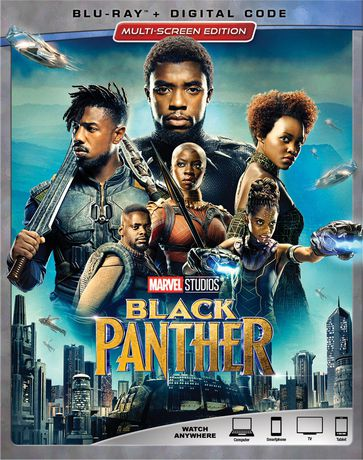 Black Panther (Blu-ray + Digital Code) - image 1 de 1