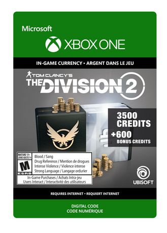 Xbox One Tom Clancy's The Division 2: 4100 Premium Credits Pack [Download] - image 1 of 1