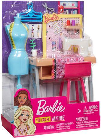 Barbie Career Fashion Design Studio Playset Walmart Canada