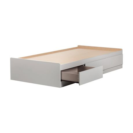 """South Shore Cookie Twin Storage Bed (39"""") with 3 Drawers, Soft Gray - image 2 of 7"""