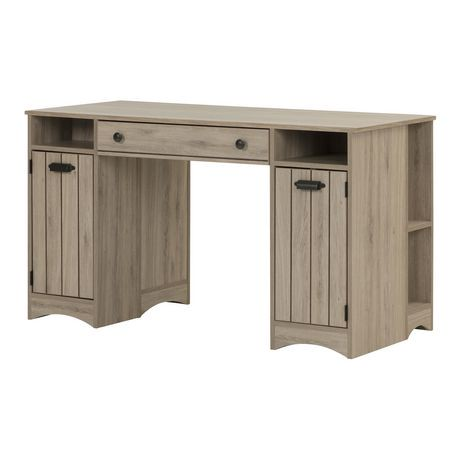 South shore artwork craft table with storage walmart canada for South shore sewing craft table