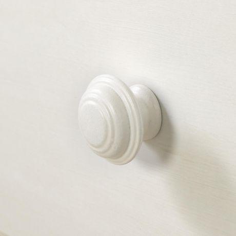 South shore lit divan avec rangement collection summer breeze simple blanc - Lit simple avec rangement ...
