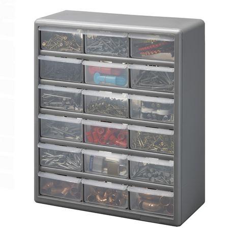 Stack-On 18 Bin Plastic Drawer Cabinet - image 2 of 2