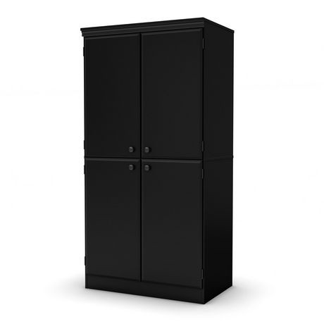 south shore morgan armoire de rangement walmart canada. Black Bedroom Furniture Sets. Home Design Ideas
