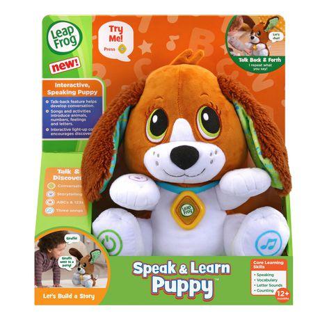 LeapFrog Speak & Learn Puppy-English Version - image 4 of 7