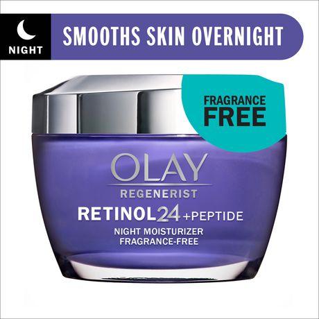 Olay Regenerist Retinol 24 Night Facial Moisturizer - image 1 of 8
