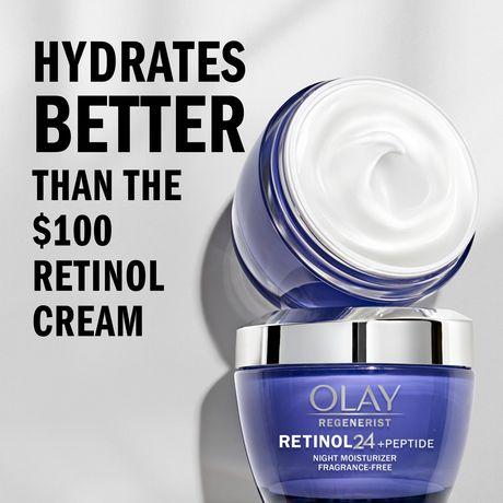 Olay Regenerist Retinol 24 Night Facial Moisturizer - image 2 of 8