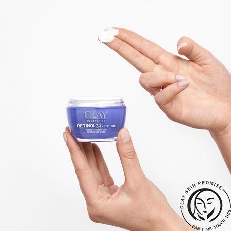 Olay Regenerist Retinol 24 Night Facial Moisturizer - image 5 of 8