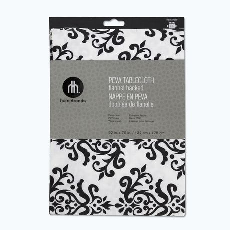 Home Trends PEVA tablecloth 52x70
