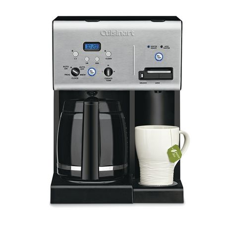 Cuisinart Coffee Plus 12 Cup Programmable Coffeemaker And Hot Water