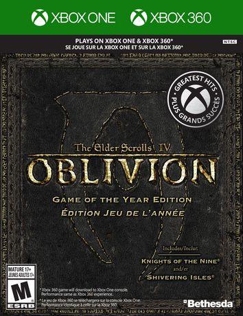 the elder scrolls iv oblivion game of the year xb360 walmart canada