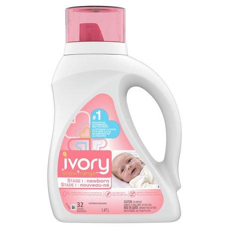 Ivory Snow Gentle Care Liquid Laundry Detergent Newborn