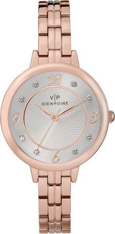 Montre Viewpoint par Timex® Bracelet Métal Rose Doré Femmes - image 1 de 1
