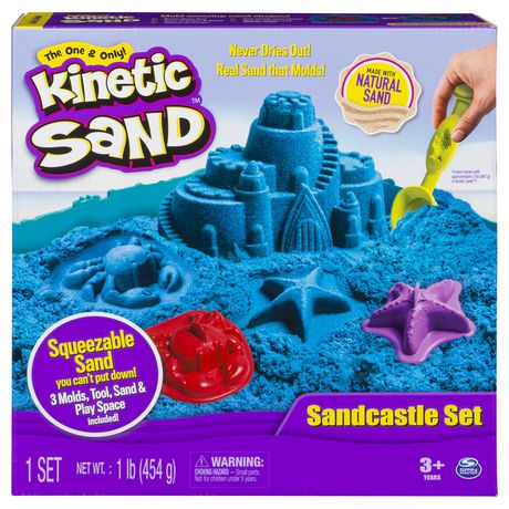 The One And Only Kinetic Sand - Sandcastle Set (colors Vary) | Walmart Canada