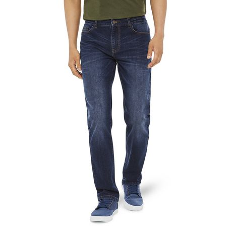 George Mens Slim Fit Boot Cut Jean - image 1 of 6