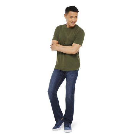 George Mens Slim Fit Boot Cut Jean - image 5 of 6