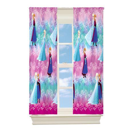"""Frozen """"Frosty Promise"""" Room Darkening Drapery Panels - image 1 of 1"""