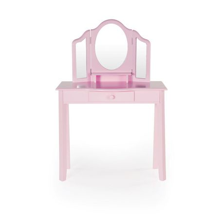Guidecraft Pink Classic Vanity And Stool Walmart Canada