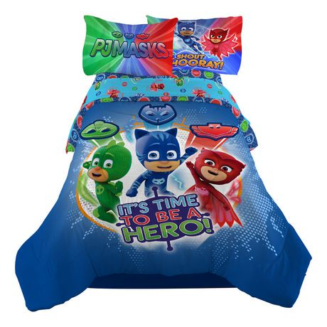 Pj Masks Quot It S Hero Time Quot Comforter Walmart Canada