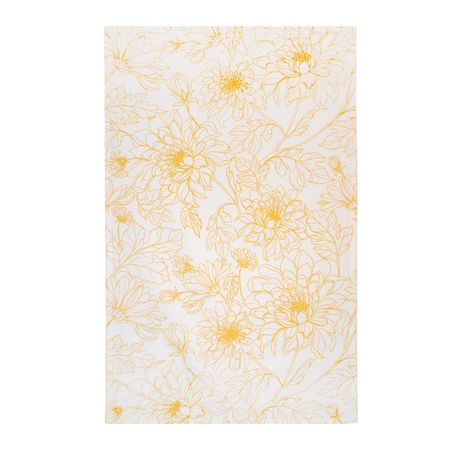 hometrends Floral Kitchen Towel - image 1 of 1
