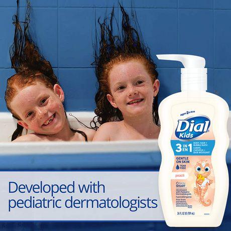 Nettoyant pour le corps+cheveux Dial pour enfants Peau de Pêche - image 3 de 3
