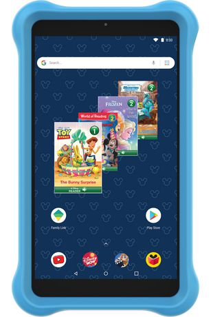 """Disney 7"""" Android Kids Tablet Bundle by SmarTab - image 2 of 8"""