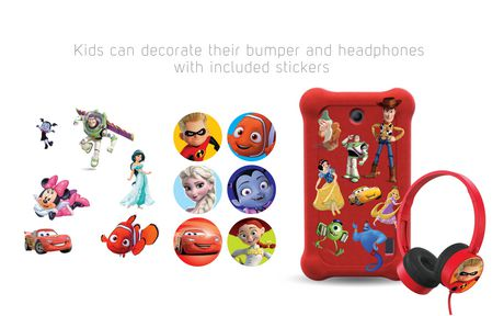 """Disney 7"""" Android Kids Tablet Bundle by SmarTab - image 5 of 8"""