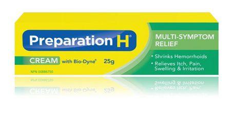 Preparation H® Cream(25g) with Bio-Dyne, Hemorrhoid Multi-Symptom Pain Relief - image 1 of 3