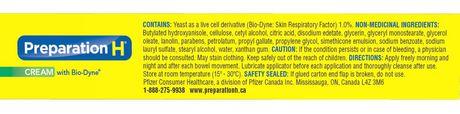 Preparation H® Cream(25g) with Bio-Dyne, Hemorrhoid Multi-Symptom Pain Relief - image 2 of 3