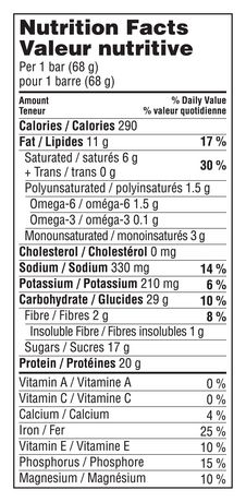 Clif Builder's Protein Bar, Chocolate Peanut Butter, 68g, Non-GMO Bar, 6 Ct - image 10 of 10