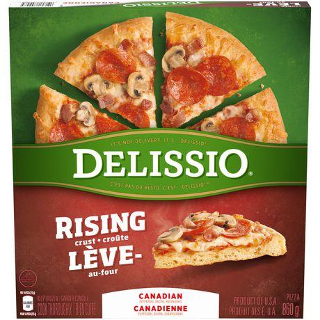Delissio Rising Crust Canadian Pizza Walmart Canada