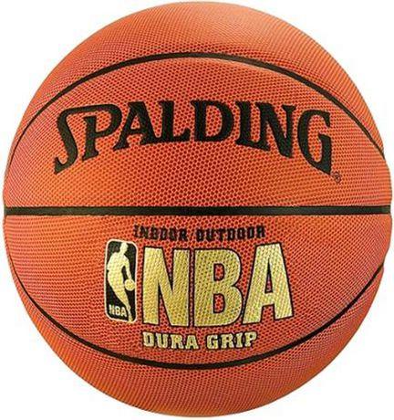 Ballon de basket-ball Dura Grip de Spalding NBA en cuir composite - image 1 de 1